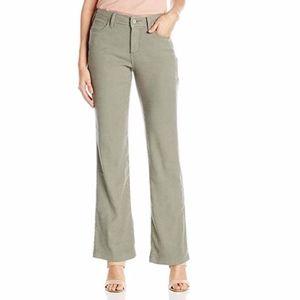 NWT NYDJ Women's Wylie Trousers in Stretch Linen